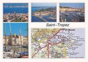 Map of Saint Tropez
