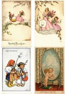 CHILDREN ENFANTS MOSTLY ARTIST SIGNED ILLUSTRATEUR 100 CPA (PART 22.)
