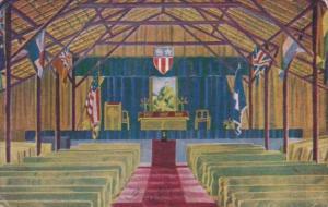 India Interior Post Chapel Replacement Depot No 3 India-Burma Theater 1945
