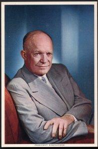 32920) President Eisenhower Photograph by Karsh J. Arthur Dixson Ltd. - Chrome