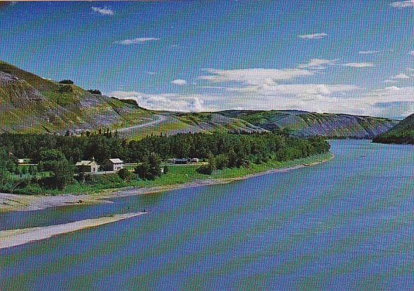 Canada Dunvegan Mission Peace River Northern Alberta