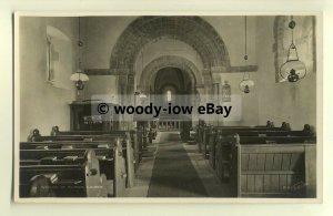 cu1799 - Inside the Church of St. Mary & St. David, in Kilbeck -  Postcard