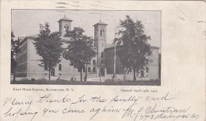 New York Rochester East High School 1907