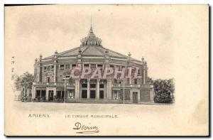 Old Postcard Circus Amiens municipal circus