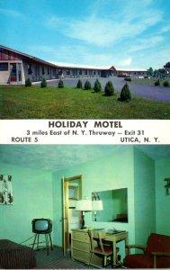 New York Utica Holiday Motel