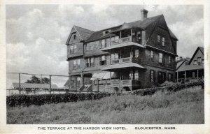[ Albertype ] US Massachusetts Gloucester - Terrace At The Harbor View Hotel (2)