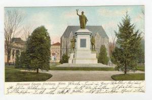 Monument Square, Fitchburg, Massachusetts, 1900-1910s