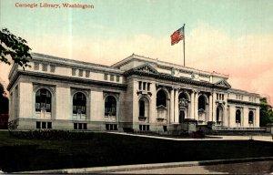 Washington D C The Carnegie Library