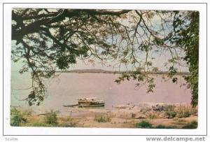 Vista Pintoresca del Rio Orinoco. Ciudad Bolivar.Eda.Bolivar,VENEZUELA, 40-60s