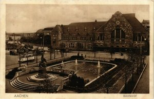 CPA AK Aachen- Bahnhof GERMANY (942371)