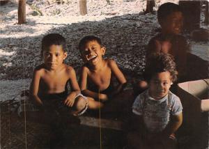 American Samoa - Aoa Village, Polynesia