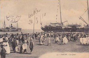 Senegal Dakar Les Quai