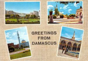 BG9707 greetings from damascus multi views damas syria