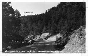 SUMMERHAVEN, ARIZONA MT. LEMMON STORE & INN-CLINE RPPC REAL PHOTO POSTCARD