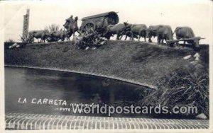 La Carreta, obra del escultor Belloni en el Parque J Batlle y Ordonez Montevi...
