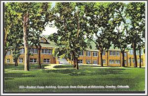 Colorado, Greeley - Student Union Building - [CO-064]