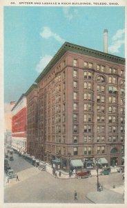 TOLEDO , Ohio , 1910s ; Spitzer & Lasalle & Koch Buildings