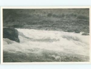Pre-1918 rppc SHORE Banff & Jasper & Canmore & Lake Louise AB W1081-12