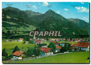Postcard Modern Fischen im Allgaeu