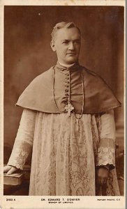 Religious Postcard Dr Edward T O'Dwyer Bishop of Limerick Unused