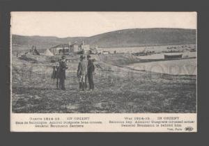 079087 War 1914-15 Orient Salonica SALONIKI Admiral Gueprate