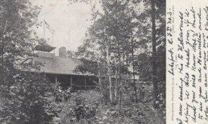 THREE MILE ISLAND , New Hampshire , 1906 ; Appalachian Noumtain Club , The Camp