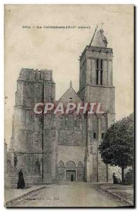 Old Postcard Dol La Cathedrale