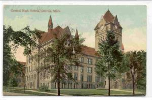 Central High School, Detroit, Michigan, PU-1909