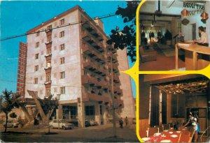 Postcard Romania Dragasani hotelul rusi dava judetul valcea multi view