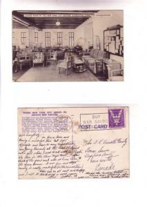 Lounge, Defense Recreation Committee Headquaters, New York City 1943 War Savi...