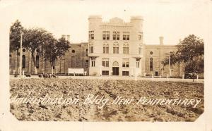 Lincoln Nebraska~State Penitentiary~Battlement Administration Bldg RPPC c1920