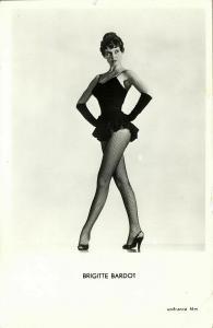 French Actress Brigitte Bardot (1960s) No. 85 RPPC