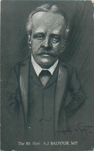 British statesman Conservative Party leader politician minister Arthur Balfour