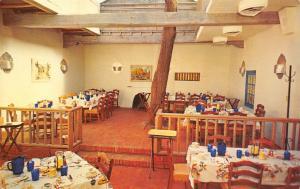 Albuquerque New Mexico~Old Town Plaza~La Placita Dining Room~Tree Inside~1960s