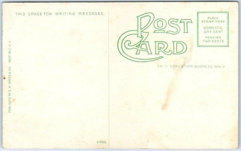 1910s Hutchinson KS Postcard Bird's-Eye View State Reformatory Prison Unused