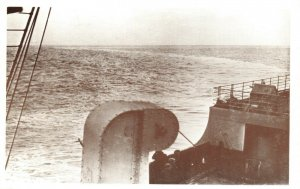 Postcard, The Wake of the Titanic from Lands End to Queenstown BZ7