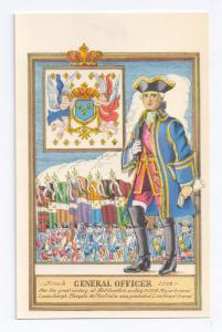 General Officer French Troops Fort Ticonderoga