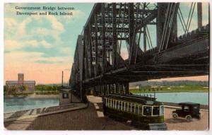 Government Bridge, Davenport & Rock Island Iowa