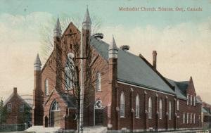 SIMCOE , Ontario , 1910 ; Methodist Church