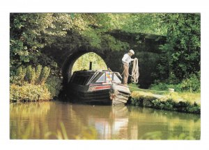 Froghall Wharf Caldon Canal Staffordshire UK Alec Bates Lichfield Postcard 4 X 6