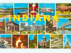 Postcard Indiana Hoosier State # 1189A