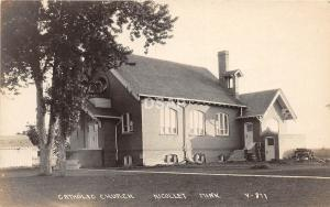 C80/ Nicollet Minnesota Mn Real Photo RPPC Postcard c1910 Catholic Church