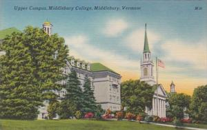 Vermont Middlebury Upper Campus Middlebury College