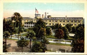 Florida Eustis The New Ocklawaha Hotel 1926 Curteich