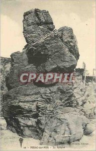 Postcard Old Piriac Sur Mer The Sphynx