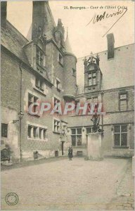 Postcard Bourges Old Court Hotel Cujas