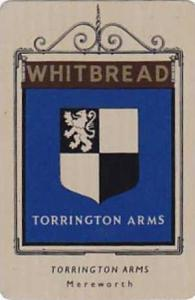 Whitbread Brewers Vintage Metal Trade Card Inn Signs 1st Series 1949 No 26 To...