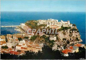 Postcard Modern REFLECTIONS OF THE RIVIERA PRINCIPALITY OF MONACO The Rock an...