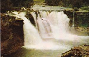Lundbreck Falls, Old Man River, LUNDBRECK, Alberta, Canada, 40-60´