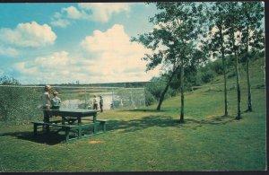 Alberta ~ GRANDE PRAIRIE Rotary Campsite - Chrome 1950s-1970s